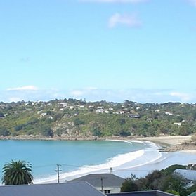 Waiheke Fiesta Mexicana - Villa: Views over Oneroa