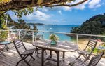 Waiheke Golden Sands: Deck view1