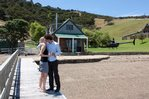 Waiheke Whites Bay: Engagement weekend Photo by Briar Hill