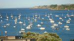 Waiheke Oneroa Vista: Boats anchored at Oneroa