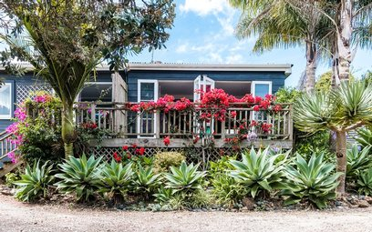 Waiheke Little Oasis: Front of house