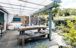 Waiheke Little Oasis: Outdoor space