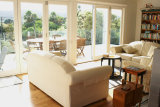 Waiheke Kiwi View Cottage: Front lounge