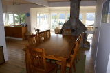 Waiheke Kiwi View Cottage: Dining