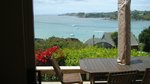 Waiheke Oneroa Vista: View from morning deck