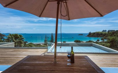 Waiheke PALM BEACH LODGE - Manuka Apartment: 8234