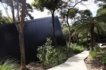 Waiheke Tent House: Garden path leading to house