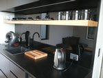 Waiheke Sandy Chalet: Kitchen layout