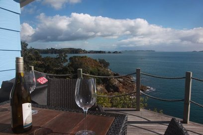 Waiheke Lovers Point: View from deck